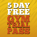 Five Day Free Gym Trial Pass